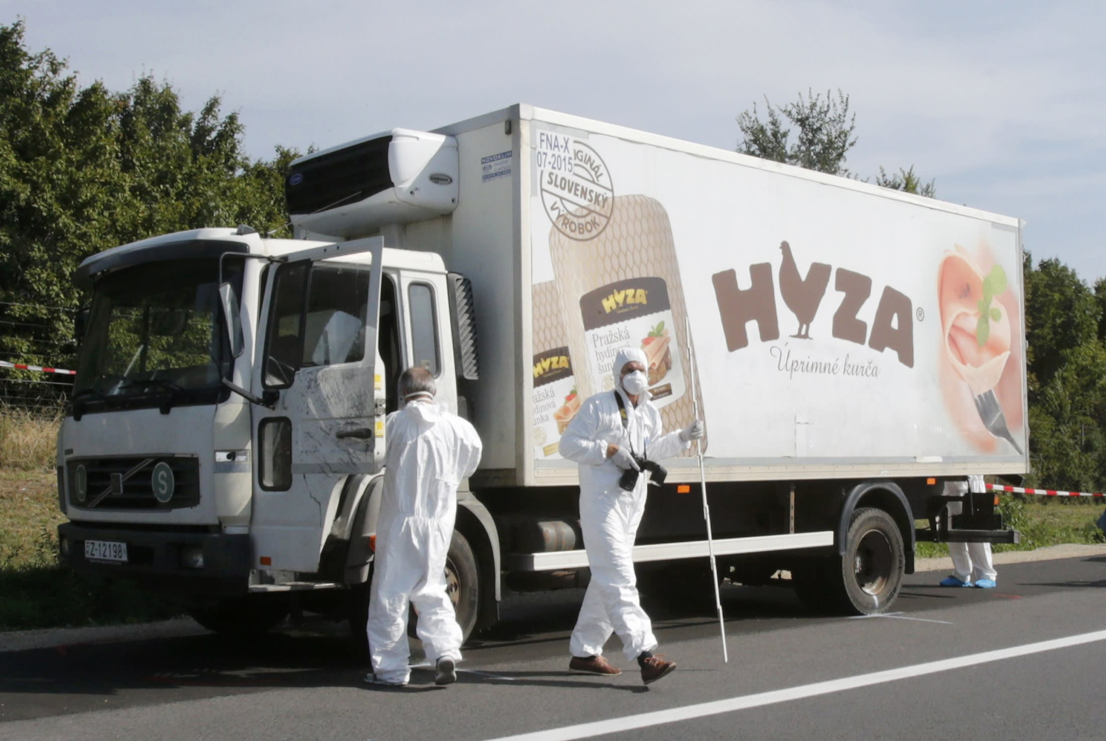 Migrants found dead in an abandoned truck in Austria