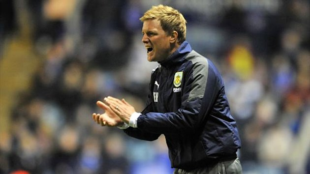 Eddie Howe is contracted to Burnley until the summer of 2014
