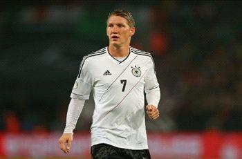 From young marauder to sturdy bastion - Schweinsteiger becomes Germany's 10th centurion