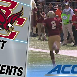 Boston College's Tyler Murphy Takes Off for a Beautiful 71 Yard Touchdown | ACC Must See Moment