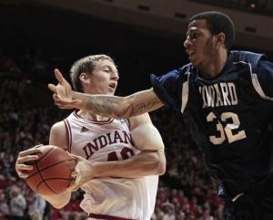 No. 17 Indiana dominates Howard 107-50