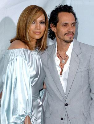 Jennifer Lopez and Marc Anthony at the Westwood premiere of New Line Cinema's Monster-In-Law