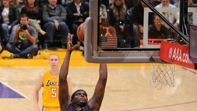 Randolph leads Grizzlies over Lakers 89-86