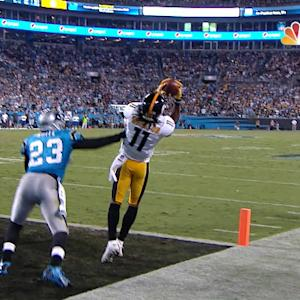Pittsburgh Steelers wide receiver Markus Wheaton TD nullified