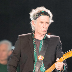 Keith Richards Writing a Children's Book — No, That's Not a Joke