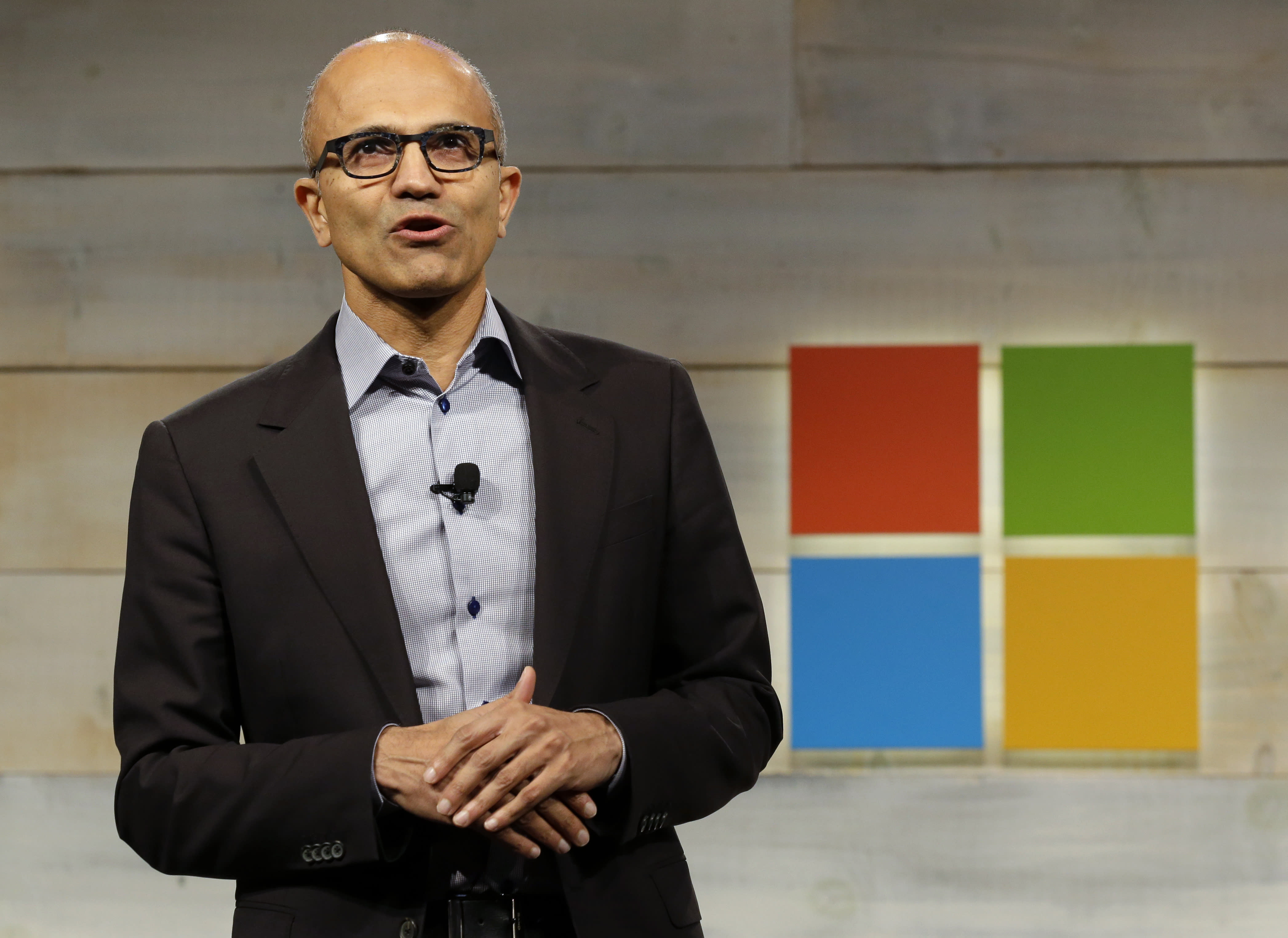 Microsoft's CEO shared a surprising motive for the coolest feature in its new phones