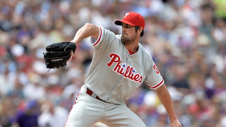 MLB: Philadelphia Phillies at Colorado Rockies