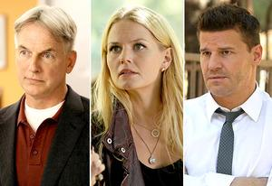 Mark Harmon, Jennifer Morrison, David Boreanaz | Photo Credits: Robert Voets/CBS; Jack Rowand/ABC; Patrick McElhenney/FOX