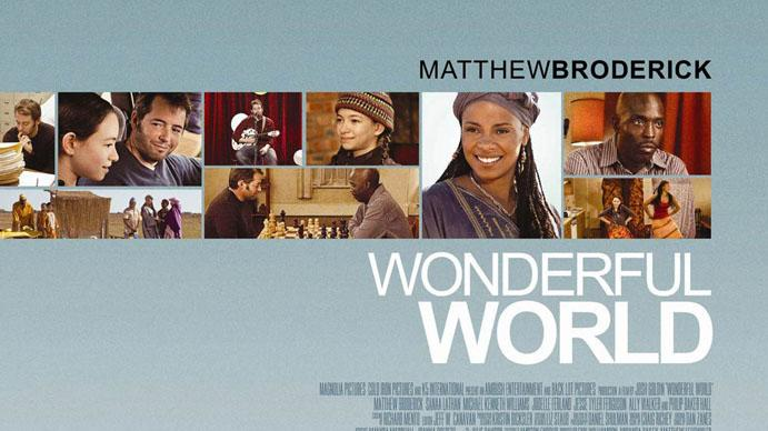 Wonderful World Poster Production Stills Magnolia 2010