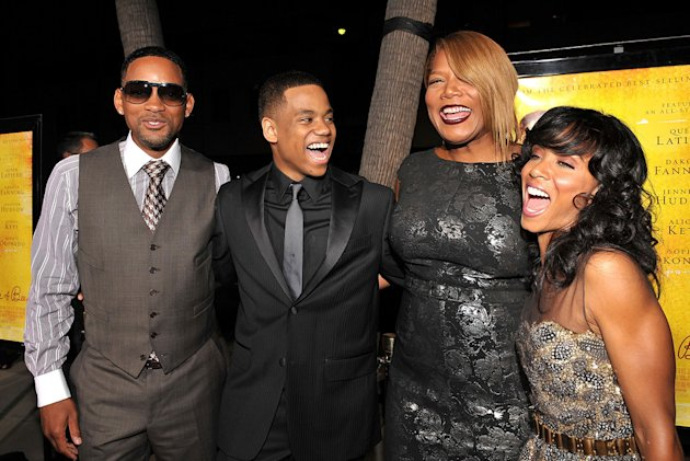 The Secret Life of Bees LA Premiere 2008 Will Smith Queen Latifah Tristan Wilds Jada Pinkett Smith