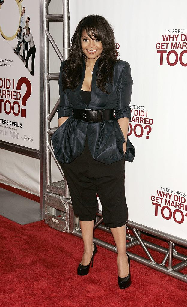 Tyler Perry's Why Did I Get Married Too? Ny Premiere 2010 Janet Jackson