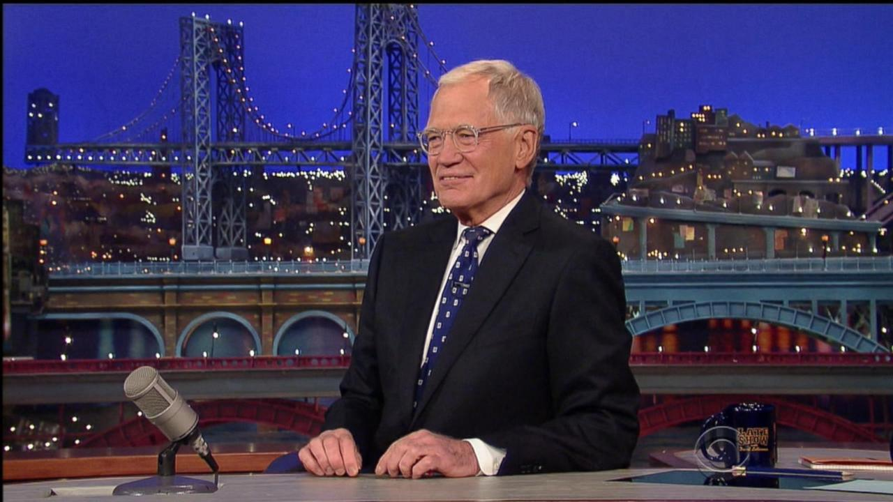 David Letterman's Star-Studded Send Off