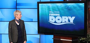 Ellen Announces &amp;#39;Finding Dory&amp;#39;