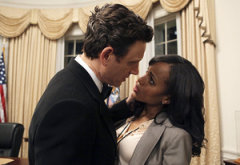 Tony Goldwyn, Kerry Washington | Photo Credits: Danny Feld/ABC/Getty Images