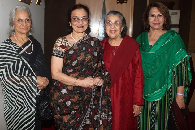 Evergreen divas at a special screening &amp;#39;Heroine&amp;#39;