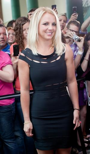 Britney Spears arrives at the 'The X Factor' Season 2 auditions at the Greensboro Coliseum in Greensboro, North Carolina on July 8, 2012  -- Getty Images