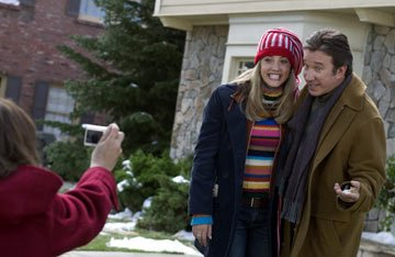 Tim Allen and Julie Gonzalo in Revolution Studios' Christmas with the Kranks