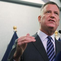 New York Mayor Bill De Blasio Says Back-Turning By Police Was 'Really Inappropriate'