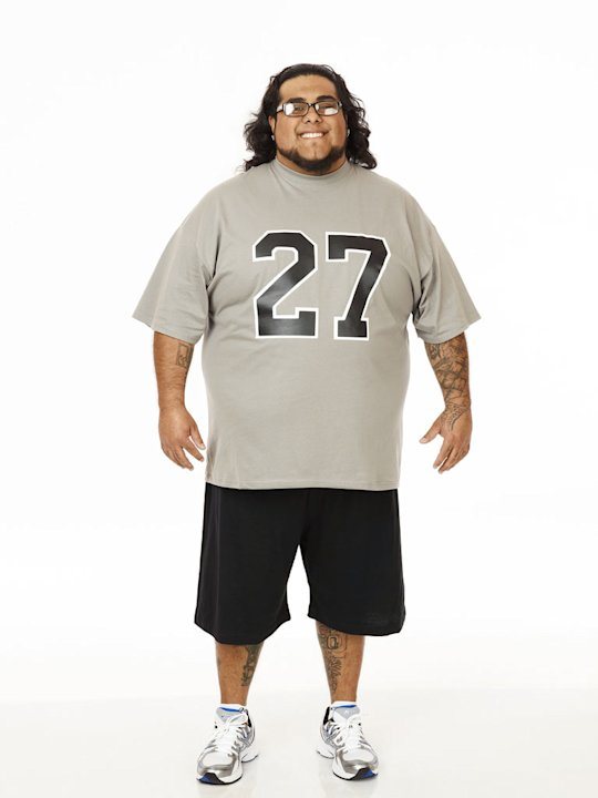 Ramon Medeiros competes on the twelfth season of &quot;The Biggest Loser.&quot; 