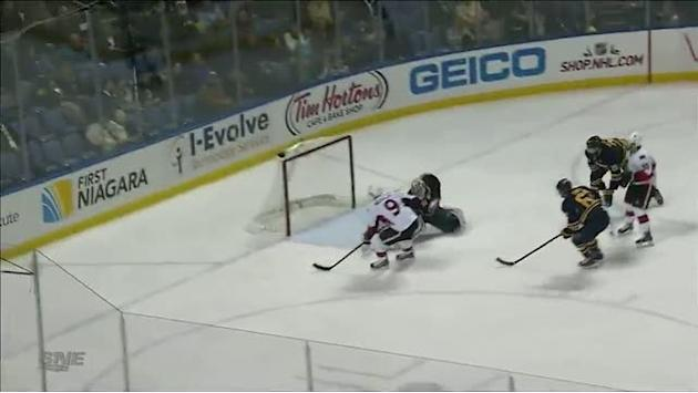 Milan Michalek buries it on two-on-one