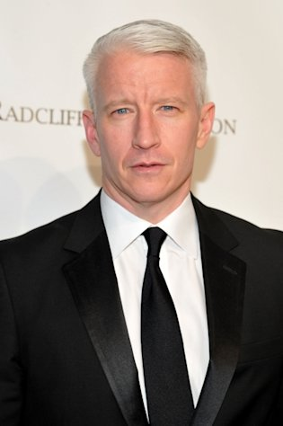 Anderson Cooper attends the 10th Annual Elton John AIDS Foundation&#39;s &#39;An Enduring Vision&#39; benefit at Cipriani Wall Street, NYC, on October 26, 2011