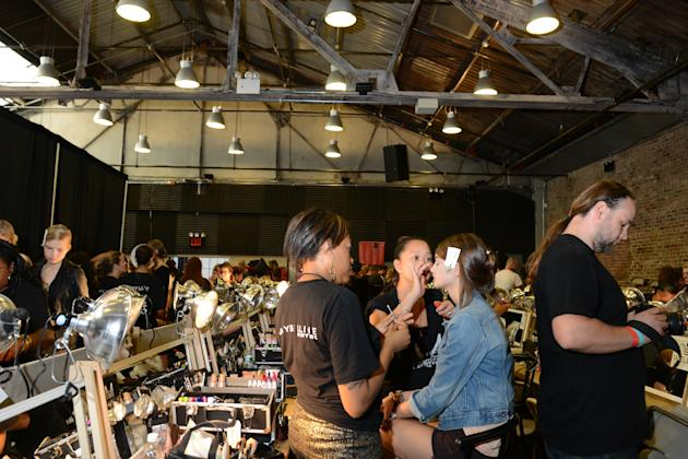 A Day in the Life of a Fashion Week Model