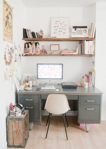 Leah Goren's Home Office