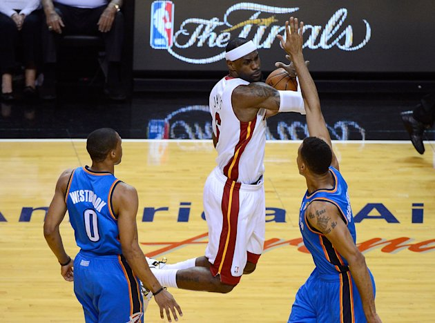 2012 NBA Finals - Game Three