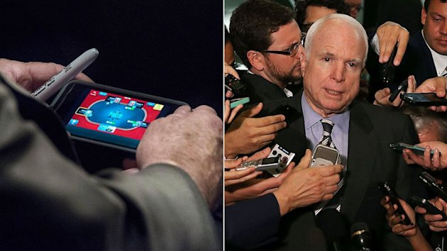 John McCain's Poker Playing Is Wholesome Compared to The Internet Transgressions of Other Pols (ABC News)