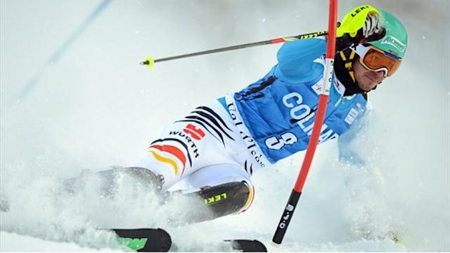 Ski Alpin - Neureuther fährt aufs Podium