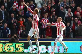 Stoke City 2-0 Swansea City: Crouch bags double for Potters' first win of the season