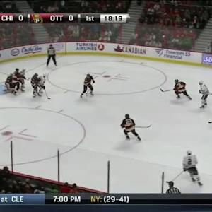 Craig Anderson Save on Ben Smith (01:43/1st)