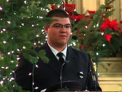 Fireman's Colleague: He'll Be Watching Over Us