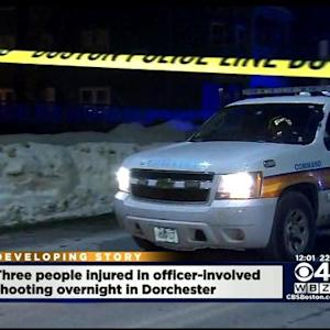Suspect Shot By Police After Injuring An Officer