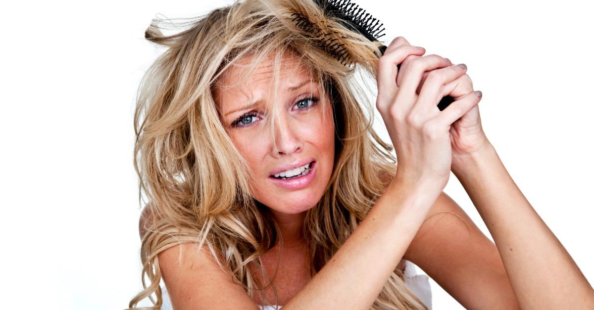 How to Fix Very Messy Tangled Hair Fast!