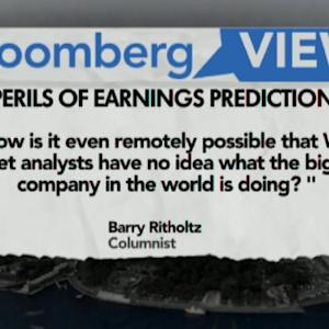 Apple Surprise Reveals the Perils of Earnings Predictions
