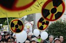 Anti-nuclear demonstrators gather outside Japanese PM Noda's official residence in Tokyo