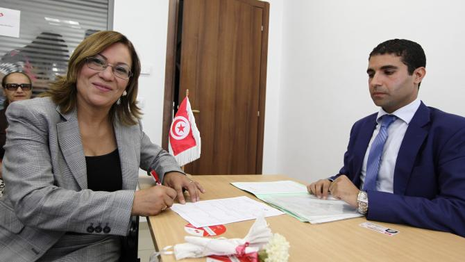 Judge Kannou submits her candidacy for the upcoming presidential elections in Tunis