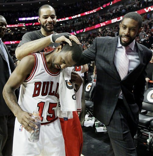 Lucas leads Bulls over Wizards