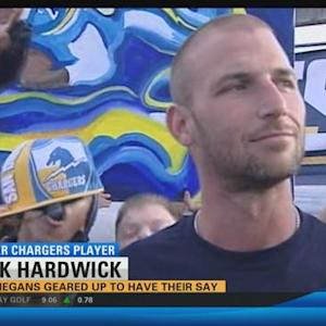 Chargers fans geared up to have their say