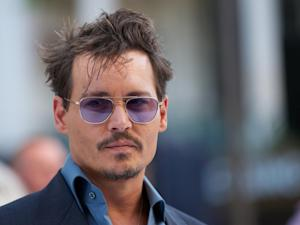 US actor Johnny Depp