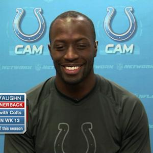 Indianapolis Colts cornerback Cassius Vaughn: 'We've beaten the teams people said couldn't be beat'
