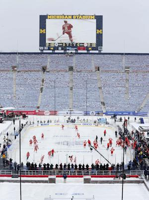 NHL set to brave elements again for Winter Classic