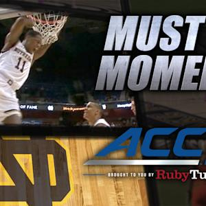 Notre Dame's Demetrius Jackson Sick Crossover & Jam | ACC Must See Moment