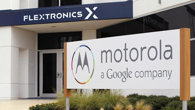 "The Flextronics plant that will be building the new Motorola smartphone ""Moto X"" in Fort Worth, Texas"