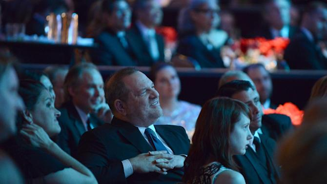 Harvey Weinstein is seen in the audience at the 24th Annual Producers Guild (PGA) Awards at the Beverly Hilton Hotel on Saturday Jan. 26, 2013, in Beverly Hills, Calif. (Photo by Jordan Strauss/Invision for Producers Guild/AP Images)