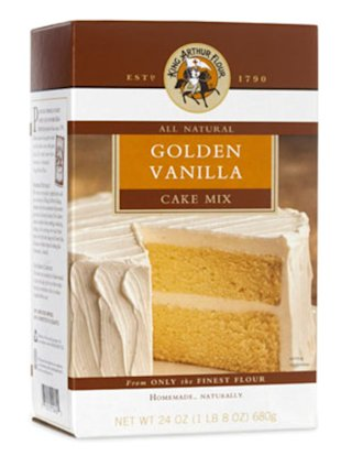 King Arthur Flour All-Natural Golden Vanilla Cake Mix