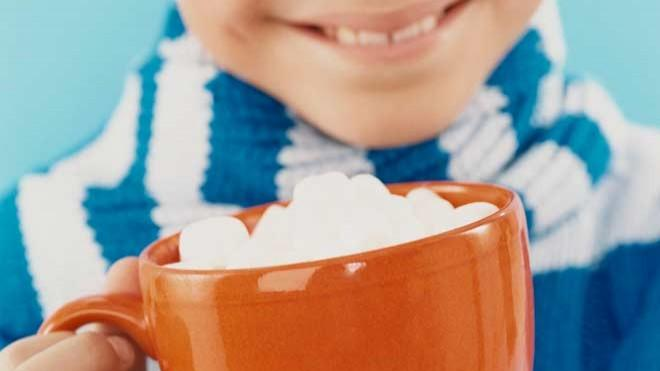 Participants in a new study found hot cocoa consumed from an orange mug to be sweeter and more aromatic.