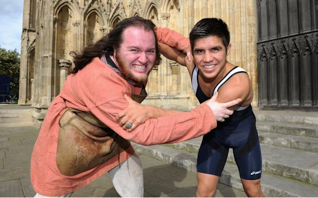 TEAM USA Britain Bound: Henry Cejudo visits York Minster