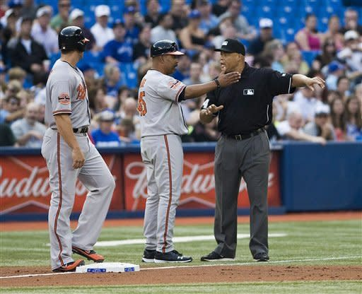 Encarnacion, Johnson lead Blue Jays over Orioles